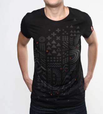 positivus-17-melns-unisex-t-krekls
