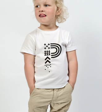 positivus-17-white-children-s-t-shirt