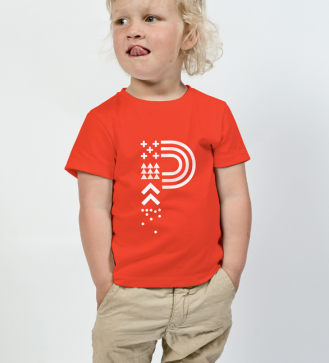 positivus-17-red-children-s-t-shirt