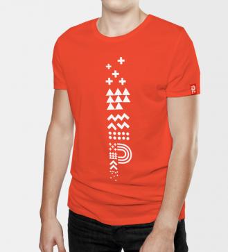 positivus-17-unisex-red-t-shirt-nr-1